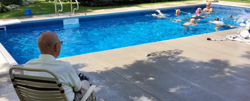 Why a 94-Year-Old Man Built a Pool in His Backyard