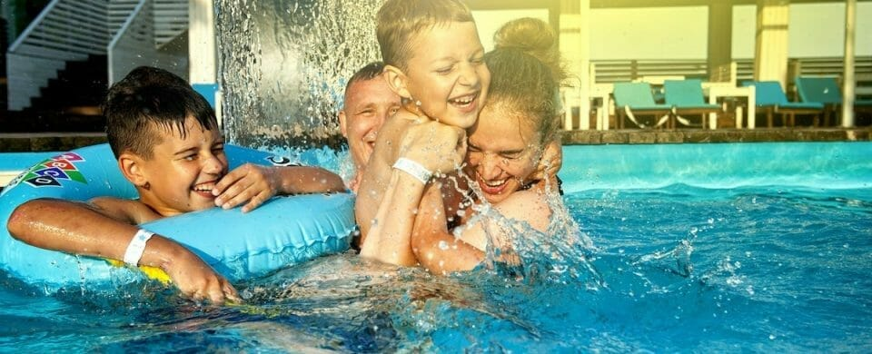 The Family Pool: A Place for Memories